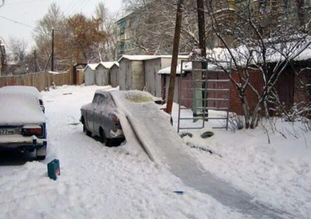Нежданно-негаданно: 10 забавных историй,которые случились в российских дворах