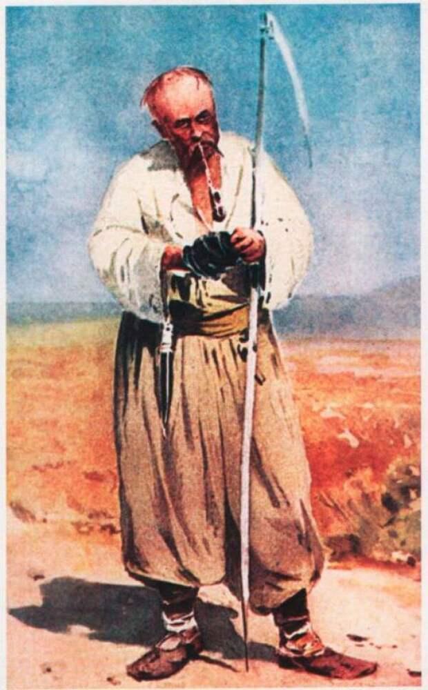 Посполитый казак (Иллюстрация из открытых источников)
