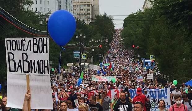 Площадь Ленина в Хабаровске опустела: куда исчезли тысячи протестующих?