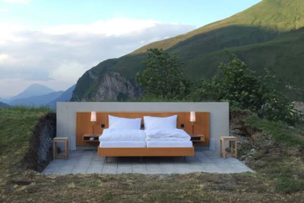 Необычный отель появился в Швейцарии