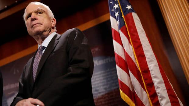 Hill: Маккейн с товарищем призвали Трампа защитить Америку антироссийскими санкциями