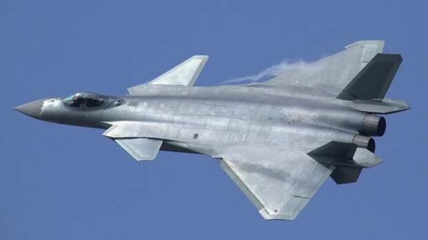 Истребители J-20 с российскими двигателями покажут на параде в Китае