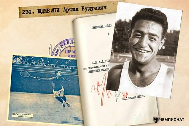 Спортсмены, репрессированные при Сталине