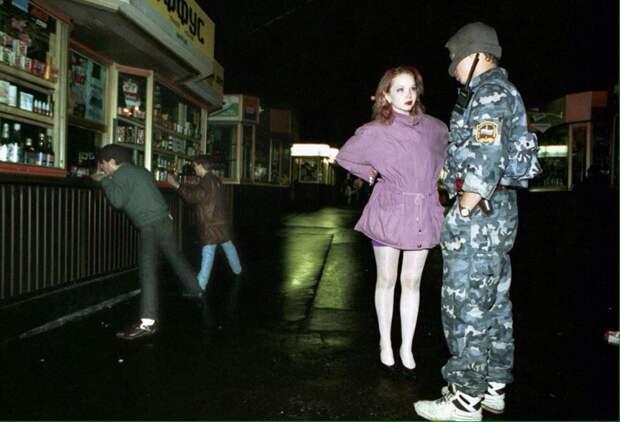 Московские проститутки,милиционеры и сутенеры, 1994-95 годы