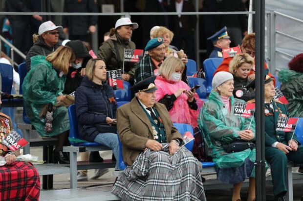 В Краснодарском крае прошел парад Победы