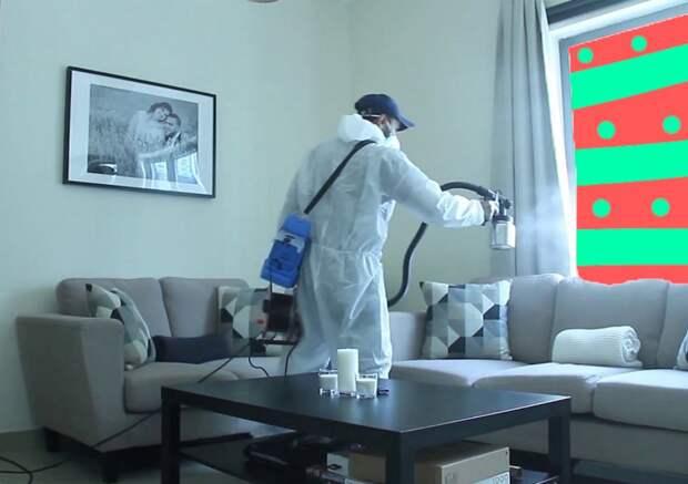 Как провести дезинфекцию квартиры во время пандемии