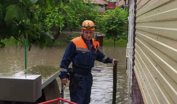 Восемь домов затопило вРостове-на-Дону из-за дождя