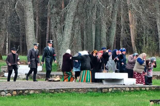 Инсценировка «сожжения деревни» коДню Победы рассердила белорусов