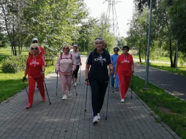 Зумба, румба и йога вернулись в парк 850-летия Москвы