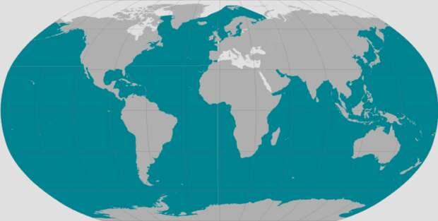 Распространение горбатого кита
