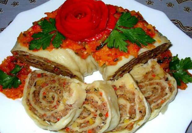 Сытный узбекский ужин: покоряет с первой ложки