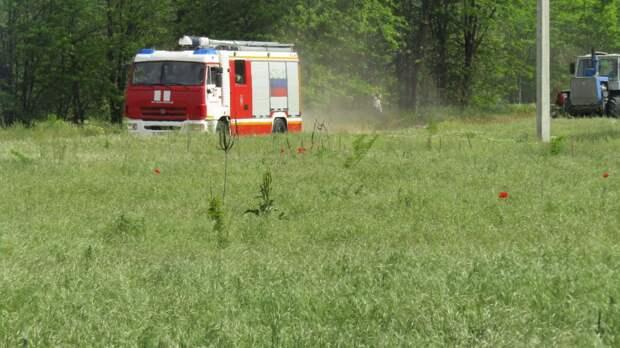 Пожарно-тактическое учение по тушению условного пожара