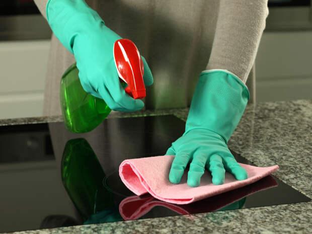 ПОНЕДЕЛЬНИК -- ДЕНЬ СОВЕТОВ. Как бороться с жирными пятнами на кухне