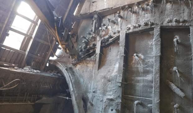 На Восточном выезде из Уфы начали «выкапывать» подземную часть Южного тоннеля