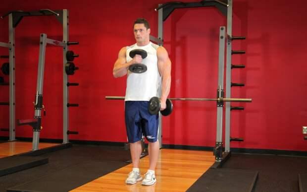 Тренировка с гантелями дома: спортзал не нужен