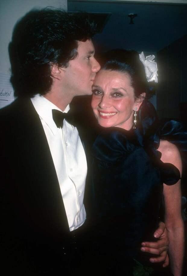 Редкие фотографии Одри Хепберн выложенные в сеть ее сыновьями.