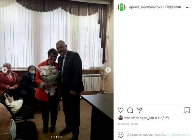 Глава управы Молжаниновского района встретился с общественными советниками
