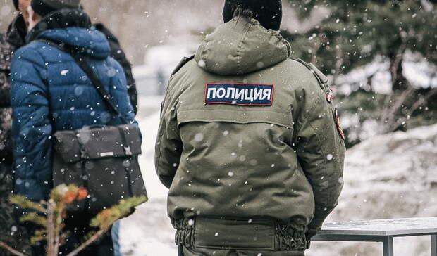 ВЕкатеринбурге полицейские у Храма-на-Крови разогнали адептов схимонаха Сергия