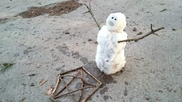 snowman-ideas снеговичок как делать