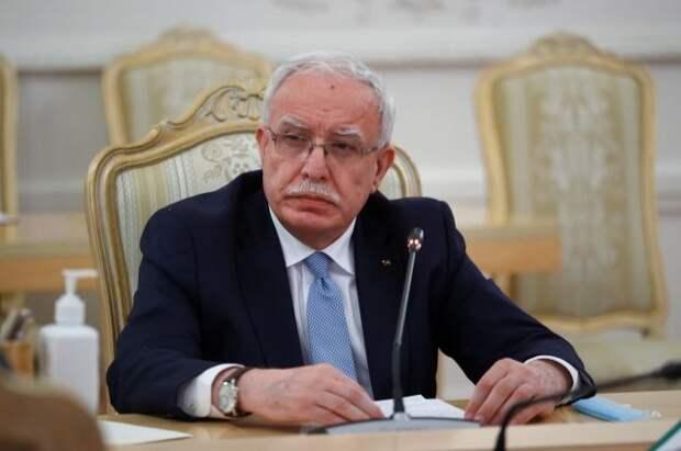 Глава МИД Палестины прокомментировал решение Израиля о прекращении огня