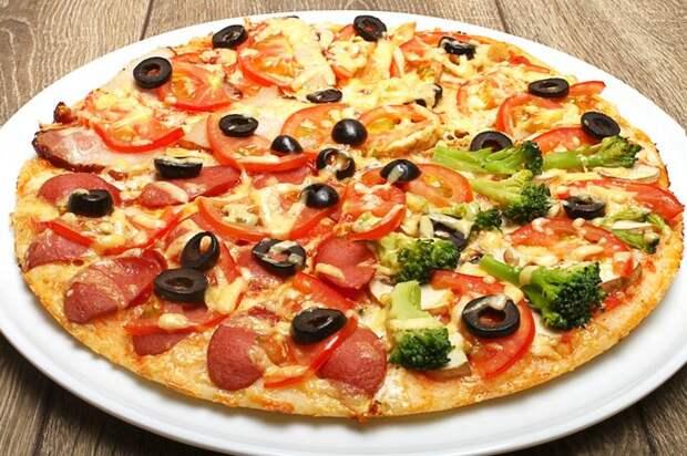Тесто для тонкой пиццы (как Пицца Хат)