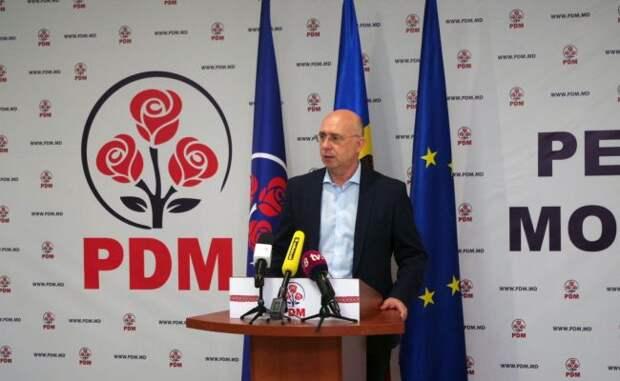 Демпартия Молдавии: Страну спасет правительство национального единства