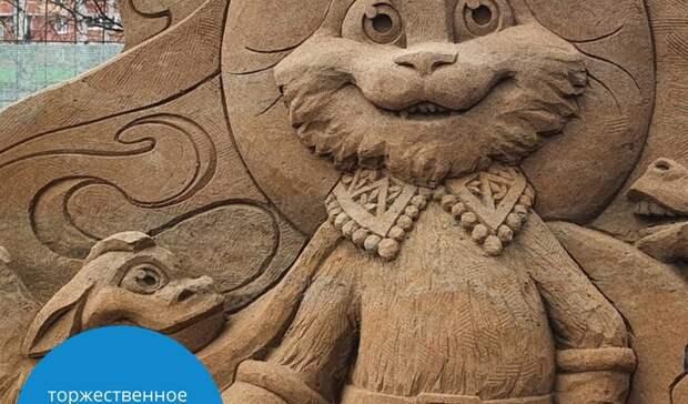 Фестиваль песчаных скульптур откроется в Ижевске 1 июня