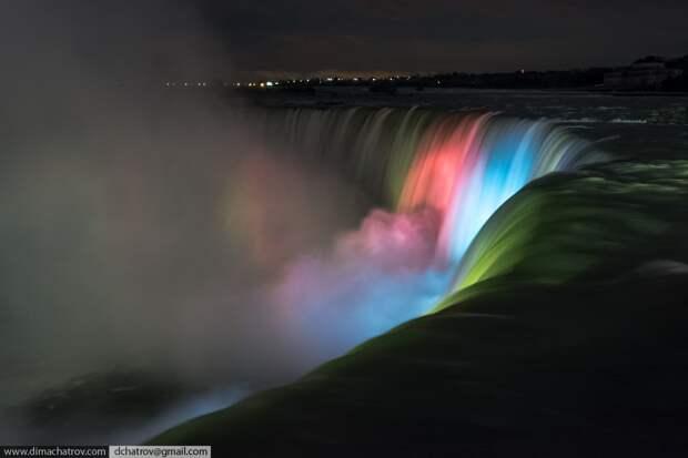 Niagaraoutside11 Ниагарский водопад. Вид изнутри