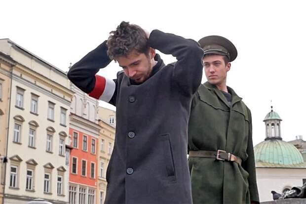 Так активисты напомнили, что на самом деле приход Красной Армии в Польшу был не освобождением, а оккупацией Фото: Скриншот с видео