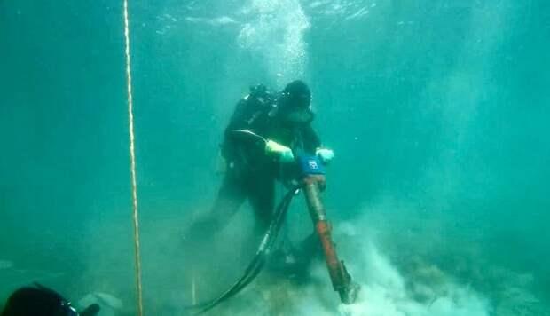 В Геленджике начали строить глубоководный выпуск в море