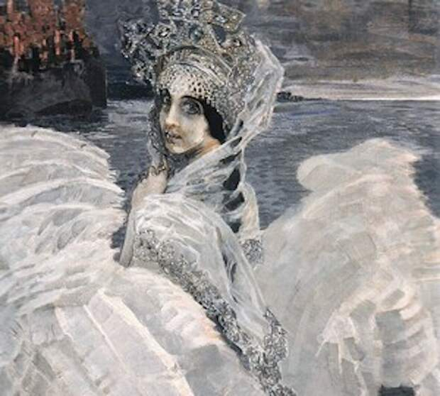 Царевна-Лебедь. М. Врубель