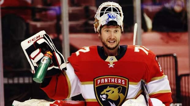 Бобровский номинирован на «Кинг Клэнси Трофи» — награду НХЛ за участие в обще...