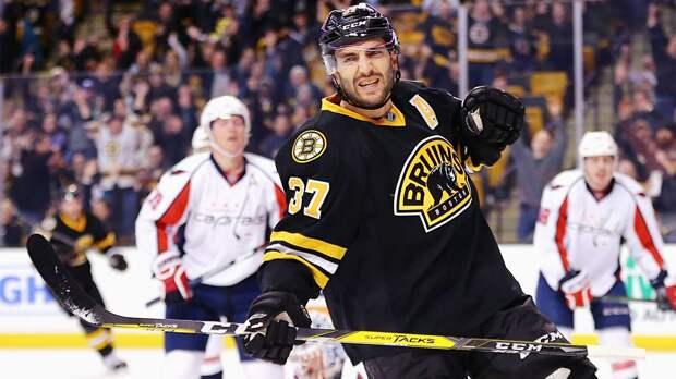 Бержерон вышел на 4-е место в истории «Бостона» по набранным очкам