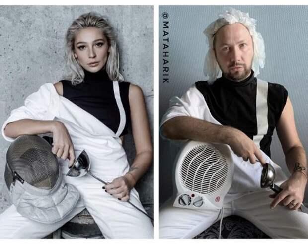Новые фотопародии от Юрия Истерики (14 фото)