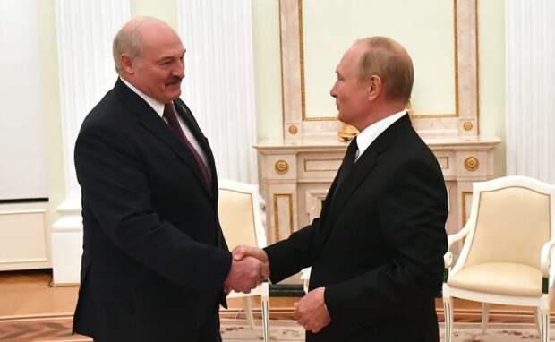 Путин подвёл итоги встречи с Лукашенко в Москве