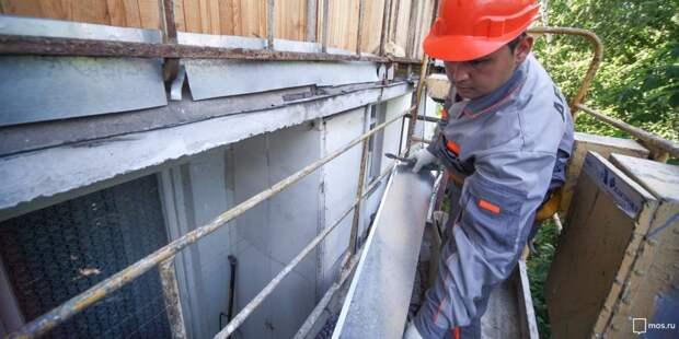 В доме на улице Маршала Катукова отремонтируют фасад и крышу