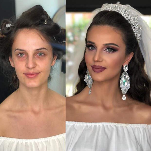 Невесты без макияжа: суровая реальность