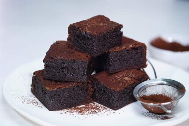 Брауни - самый шоколадный торт
