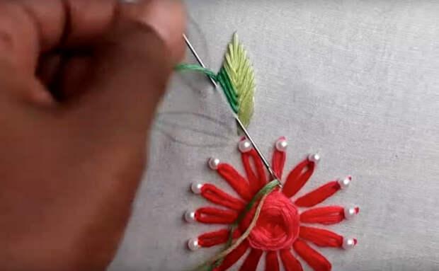 Потрясающая вышивка: Использование шумовки не по прямому назначению... Советы, идеи и мастер класс своими руками