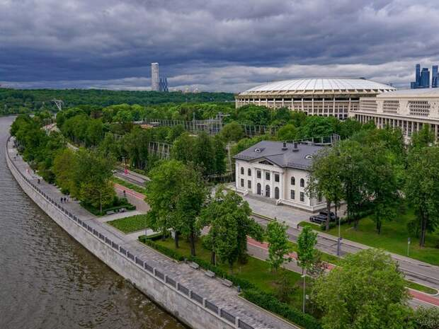 На Москву надвигается гроза
