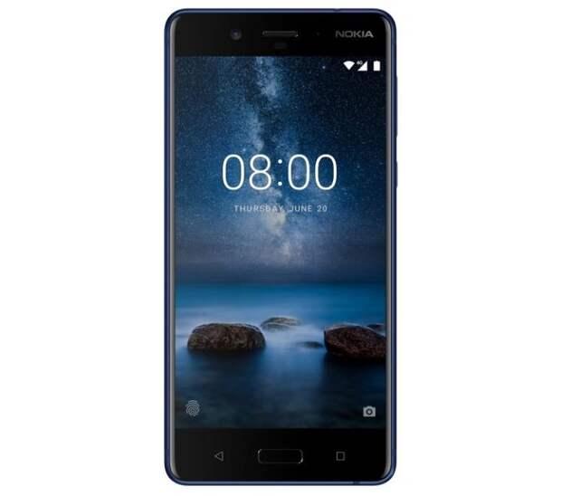 Nokia 8 подешевел ещё до анонса