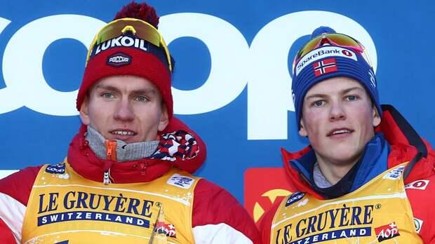 Большунов: «Почему впереди с норвежцами оказываюсь только я? Может, потому, что у меня тоже комбинезон красный»