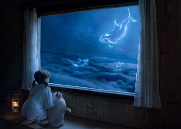 """Сны - это """"окна"""" в другие миры."""