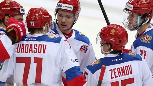 Сборная России выиграла десятый подряд матч Еврохоккейтура