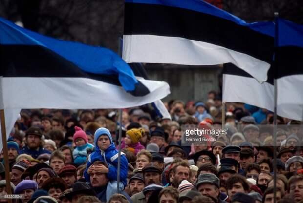 Таллин,1988-90 годы.