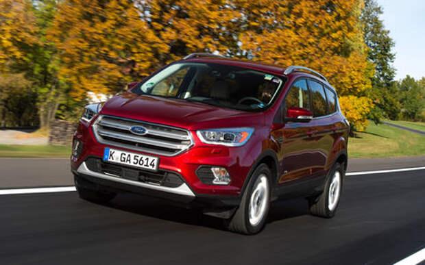 Ford поднял цены на Кугу и Мондео
