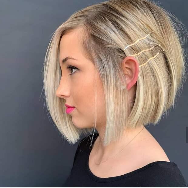 Как быстро уложить короткие волосы фото 16