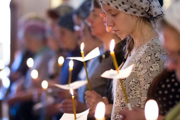 Молитва. Фото: храм