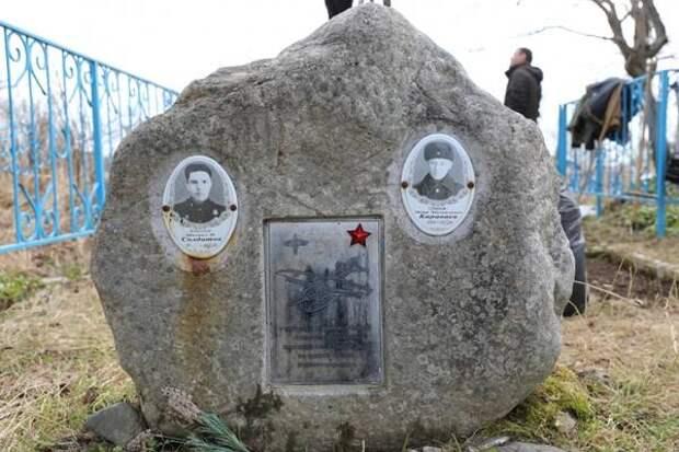 В урочище Ольховатка на Сахалине благоустроили кладбище военных летчиков
