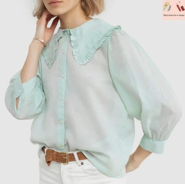 Восхитительные и элегантные элементы на стильных блузах этого сезона: идеальные сочетания и детали 2021!